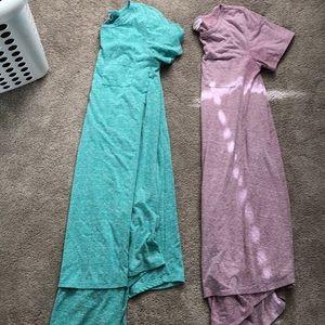 Set of 2 Lularoe Carly Size S